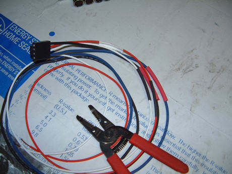 4 wire harness